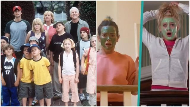 The Cast Of 'Cheaper By The Dozen' Got Together To Recreate Their Best Scenes!