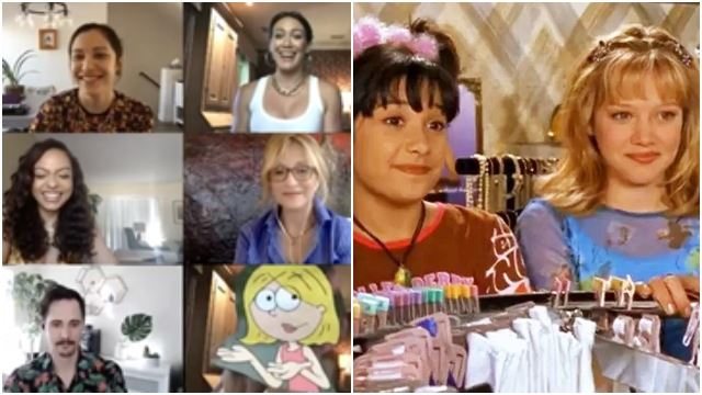 The 'Lizzie McGuire' Cast Just Reunited For The First Time In 18 Years For A Virtual Table Read