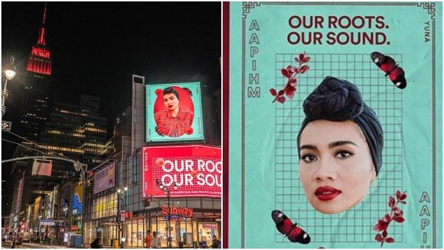 Yuna Takes Over NYC Billboards Again, This Time To Celebrate AAPI Heritage Month