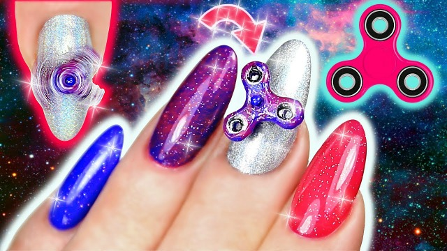 Now You Can Have A Fidget Spinner On Your Nails!