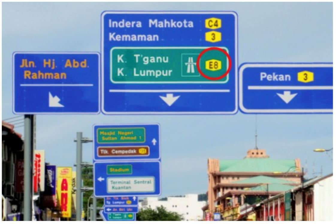 What Do The Colours, Numbers And Letters On Malaysia's Road