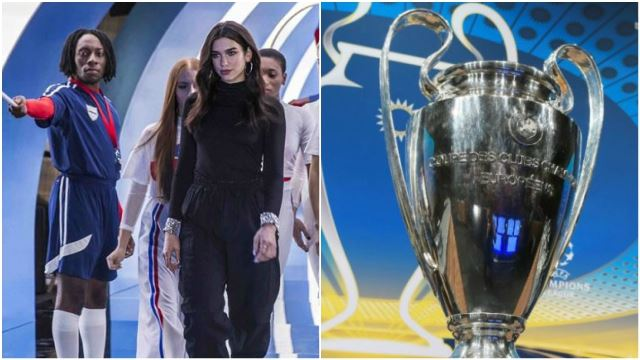 Dua Lipa Will Make You Watch The Football Finals Even If You Don't Like Football