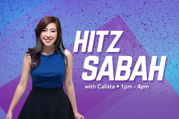 hitz sabah with calista
