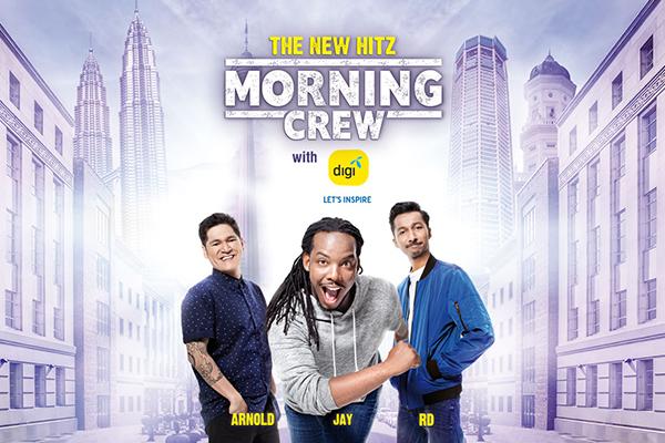 the new hitz morning crew