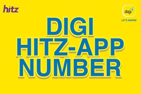 digi hitz-app number