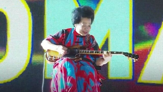 This 81-Year-Old Granny Is Rocking It With Her Electric Guitar