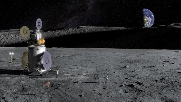 scientists have found water on the moon!