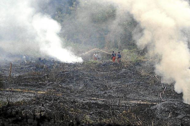 doe bans open burning, amid ongoing haze