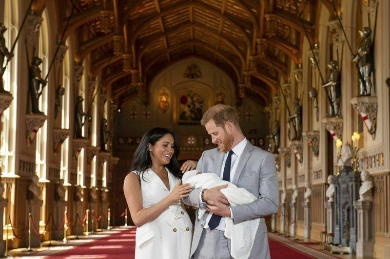 the son of the duke and duchess of sussex has a name!