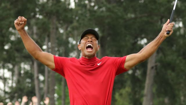 Tiger Woods Wins His 5th PGA Masters