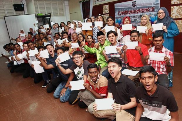 overall achievement of spm results for 2018 was better compared to the last four years