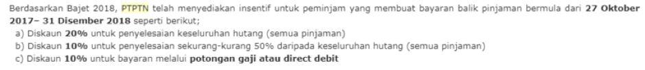 ptptn borrowers, you can't escape repayments anymore (if pgb happens)