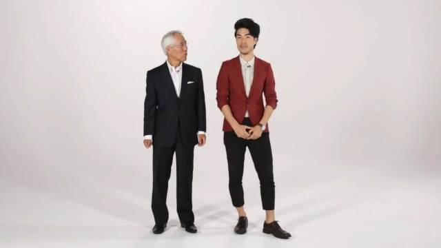 Watch These Men And Their Dads Imitate Each Other