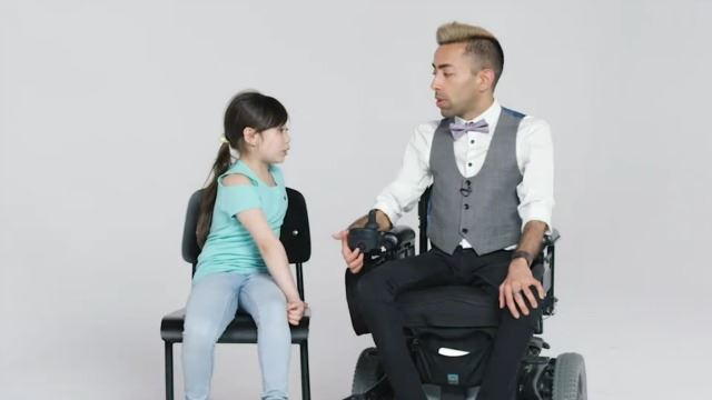 Watch How These Kids React Upon Meeting A Person With Muscular Dystrophy