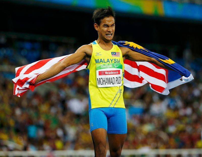 malaysian para athlete, mohamad ridzuan puzi is asia's best male para athlete
