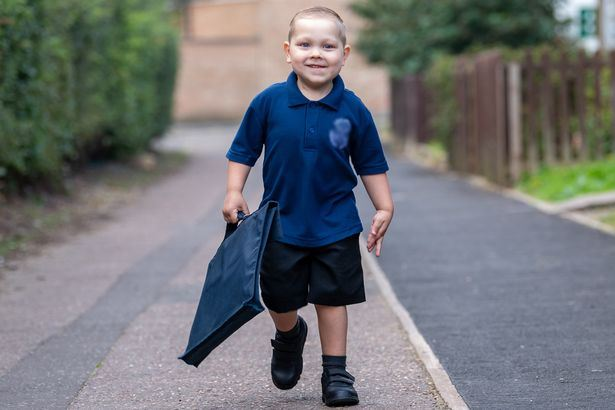 this 4-year-old boy is a champion for beating leukemia twice
