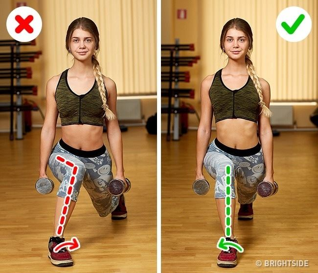 15 dangerous workout mistakes that we make
