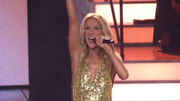 celine dion debuts new single during performance in las vegas