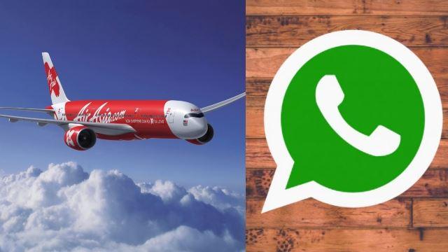 这家航空推出免费whatsapp服务!