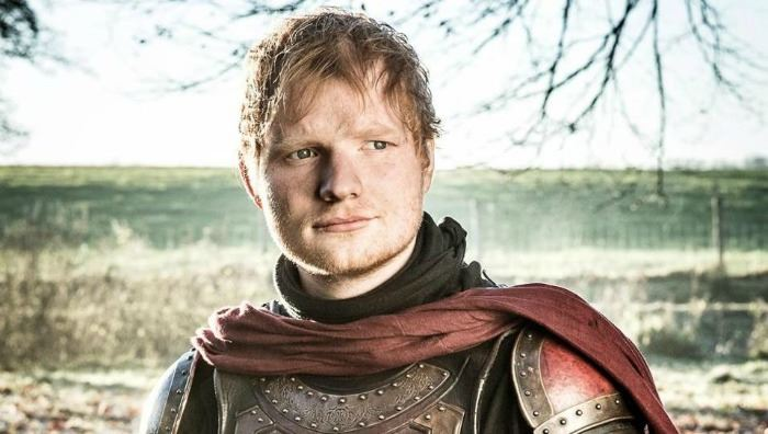 """did you spot this famous singer in the premiere of """"game of thrones""""?"""
