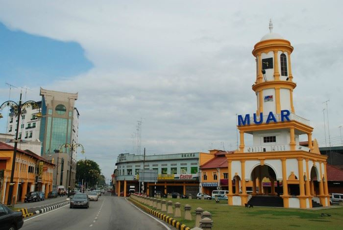 muar gets honoured with asean clean tourist city award