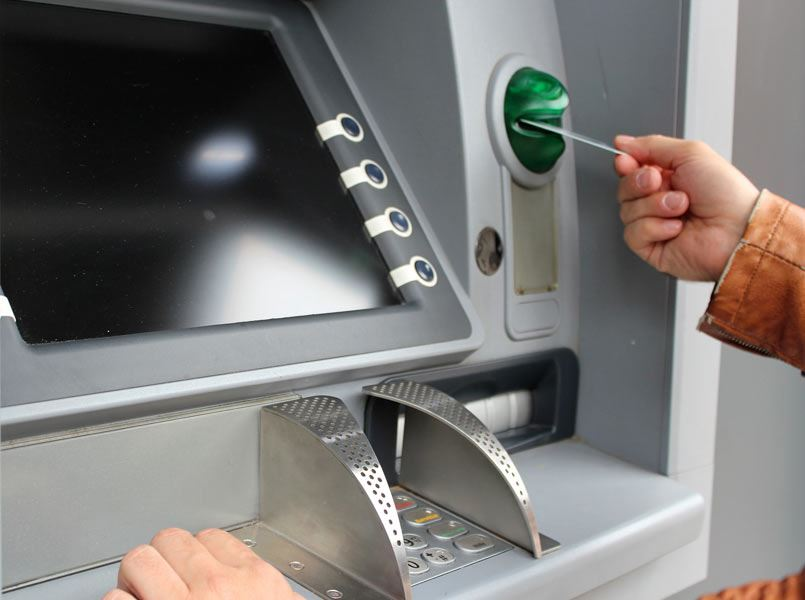 what should you do if you receive fake bank notes from the atm