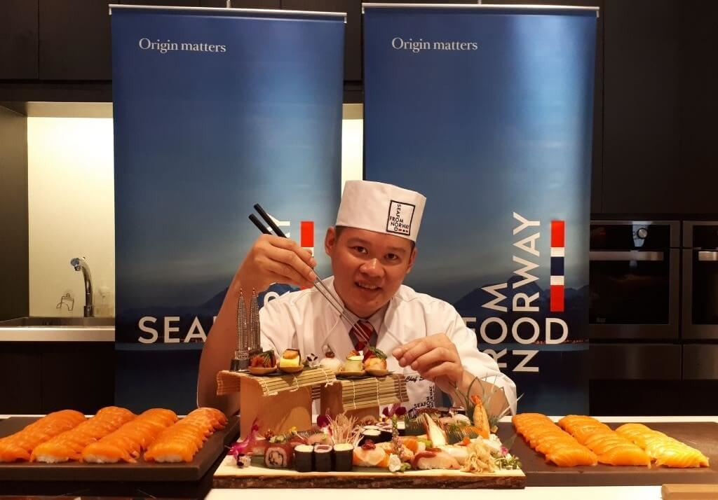 Sushi Chef From Kluang Wins First Place At World Sushi Competition