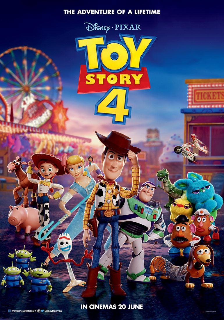disney pixar's toy story 4