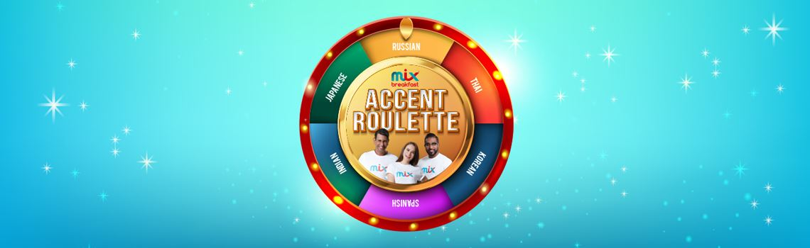 mix breakfast's accent roulette