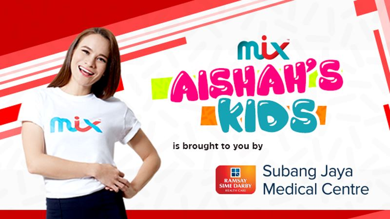 mix aishah's kids