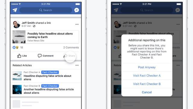 Facebook's About To Spy On Those Who Like, Comment Or Share Misleading Info About COVID-19