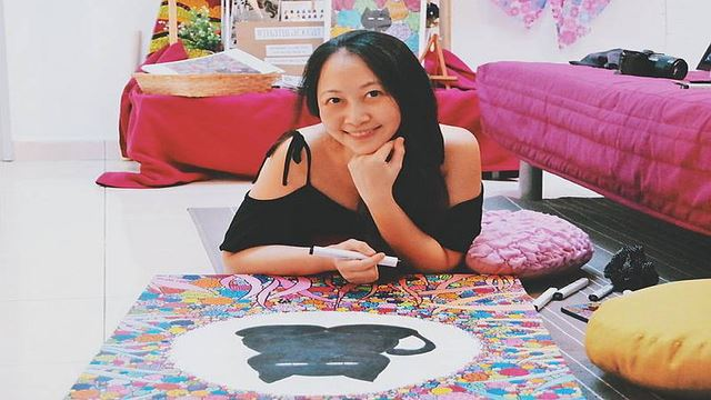 This Software Consultant Left Her Job Because She's Full Of Art At Heart