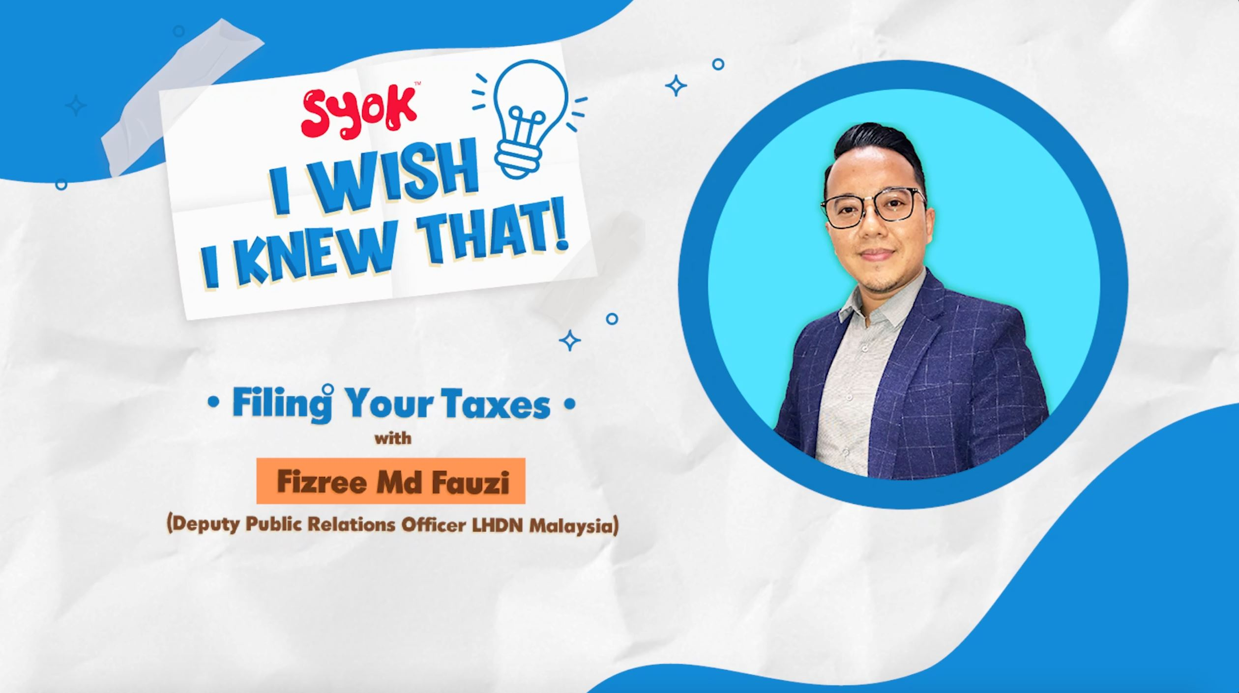 I Wish I Knew That Ep. 1: Filing Your Taxes With LHDNM