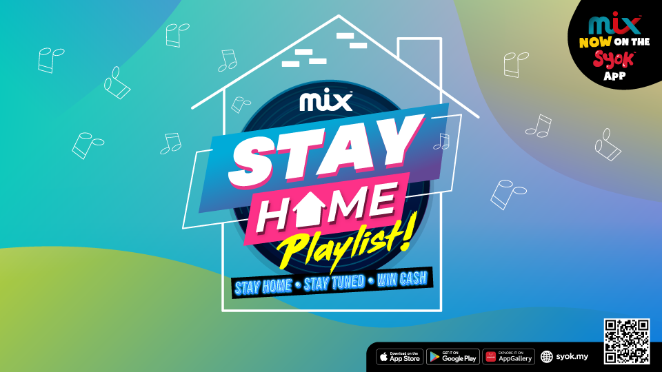 MIX Stay-Home Playlist!