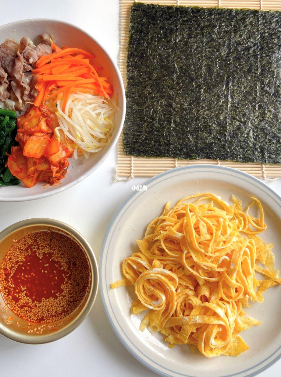 🇰🇷韩式紫菜包饭卷🔥四步骤超简单又好吃