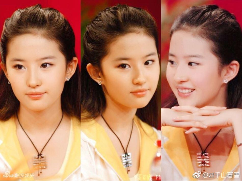 刘亦菲曝美国时期照片!才13岁就已美得惊天动地