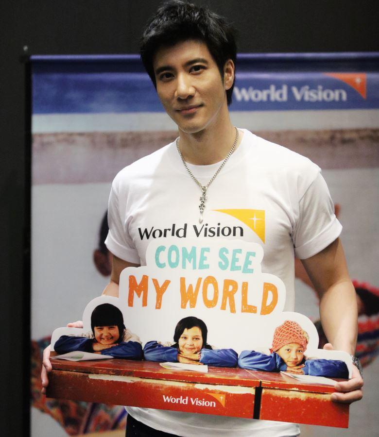 出任马来西亚世界宣明会爱心大使!王力宏分享儿童助养人的爱心旅程!