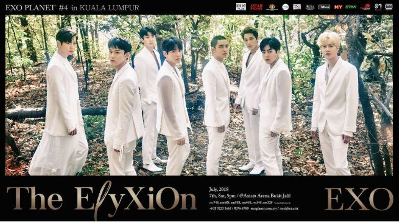 《exo planet #4 the eℓyxion 》演唱会游戏
