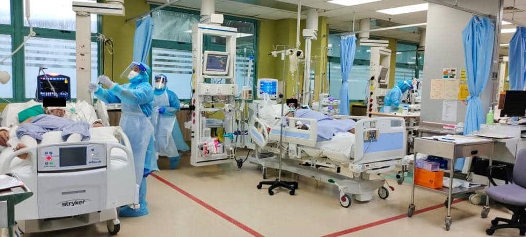 焦点新闻: 巴生河流域的加护病房快满了!