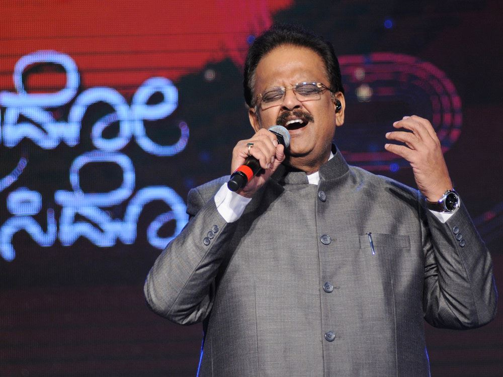 s. p. balasubrahmanyam is our artiste of the month!