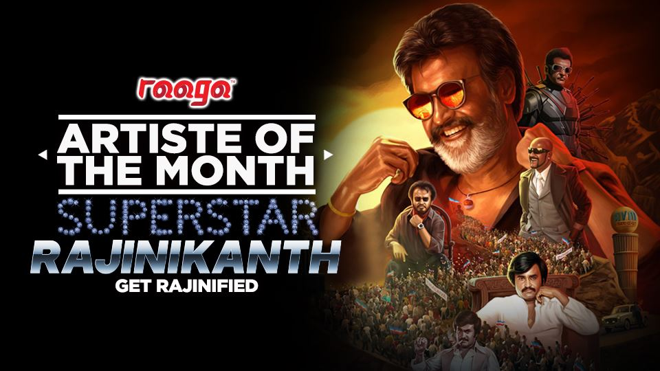 Superstar Rajinikanth Is Our Artiste Of The Month!