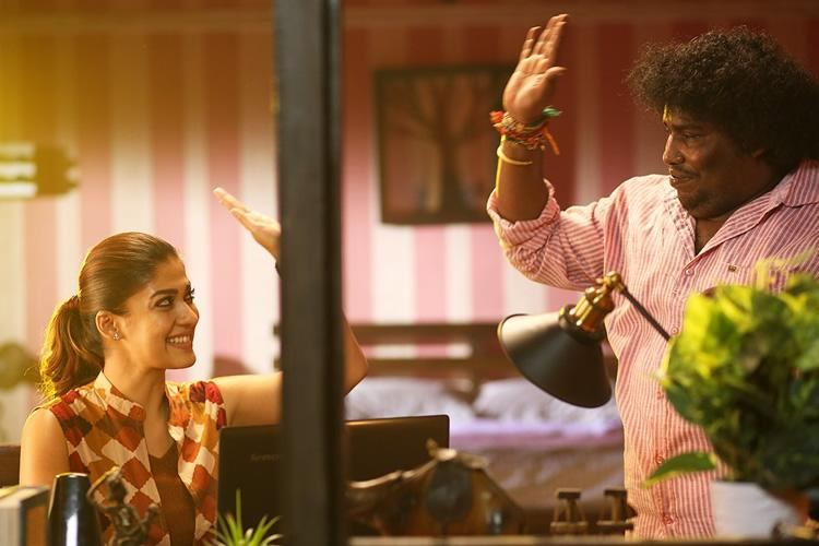 lady superstar nayanthara and yogi babu team up once again for airaa!