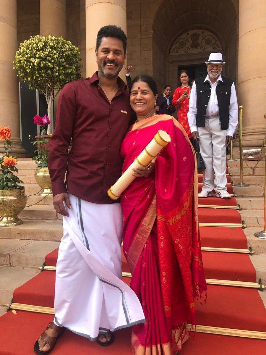 [update] dancer, choreographer, director and actor prabhu deva is honoured with padma shri award!