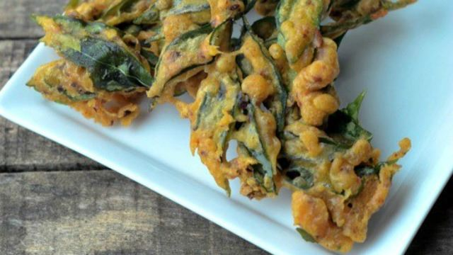 Have You Heard Of Curry Leaves Pakoda?