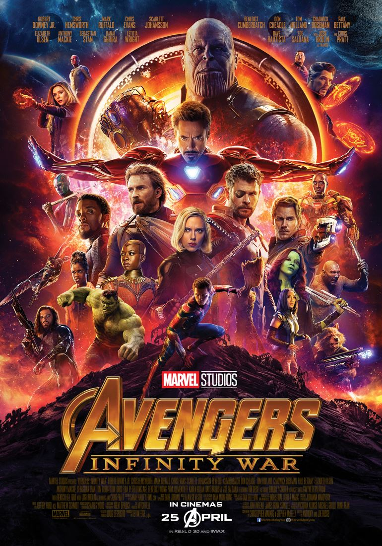 win exclusive screening passes to watch avengers infinity war