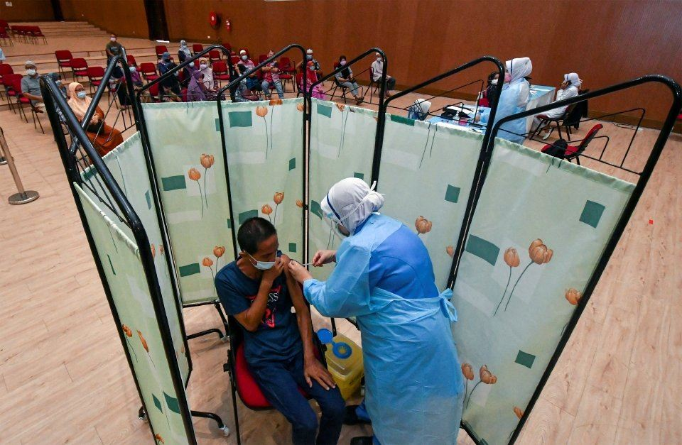 rakyat diberi kebenaran rekod gambar atau video ketika terima suntikan vaksin di ppv