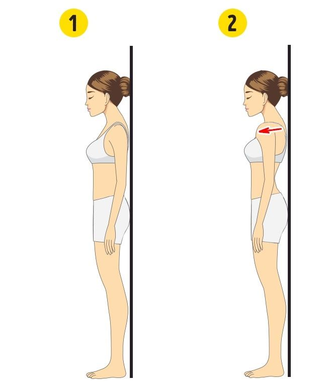 5 senaman ringkas hilangkan lemak di belakang bahu