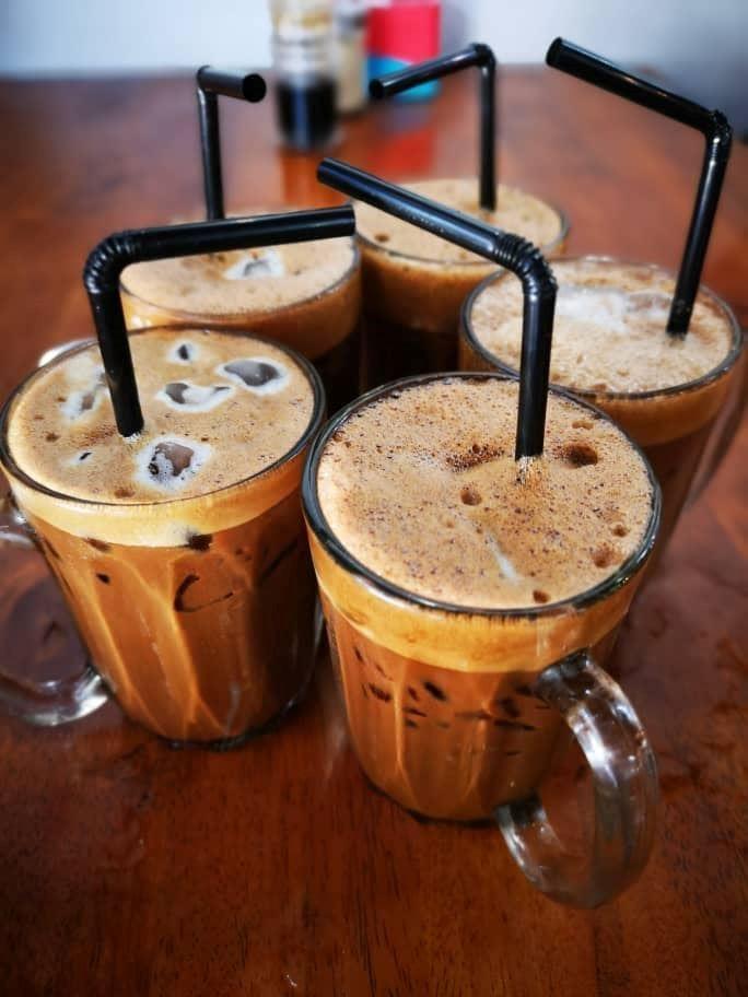 sesuai untuk moreh nanti, kopi ais paling kaw!