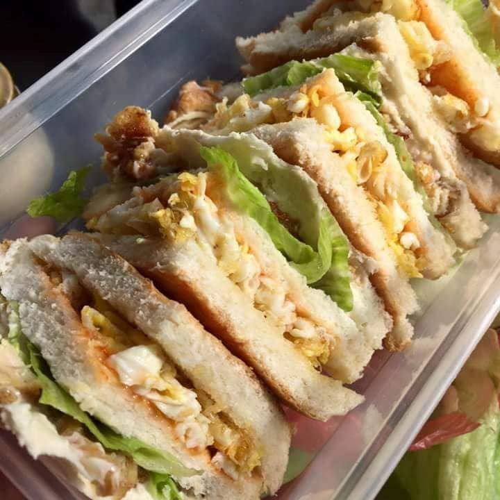 tak tahu nak buat menu apa open house nanti, jom cuba menu sandwich telur