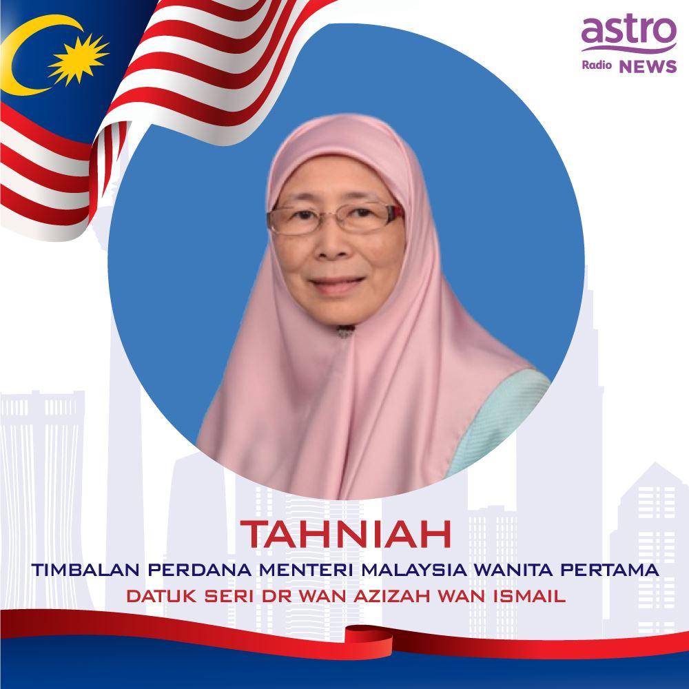 timbalan perdana menteri malaysia wanita yang pertama hanya follow seorang artis ini di instagram!